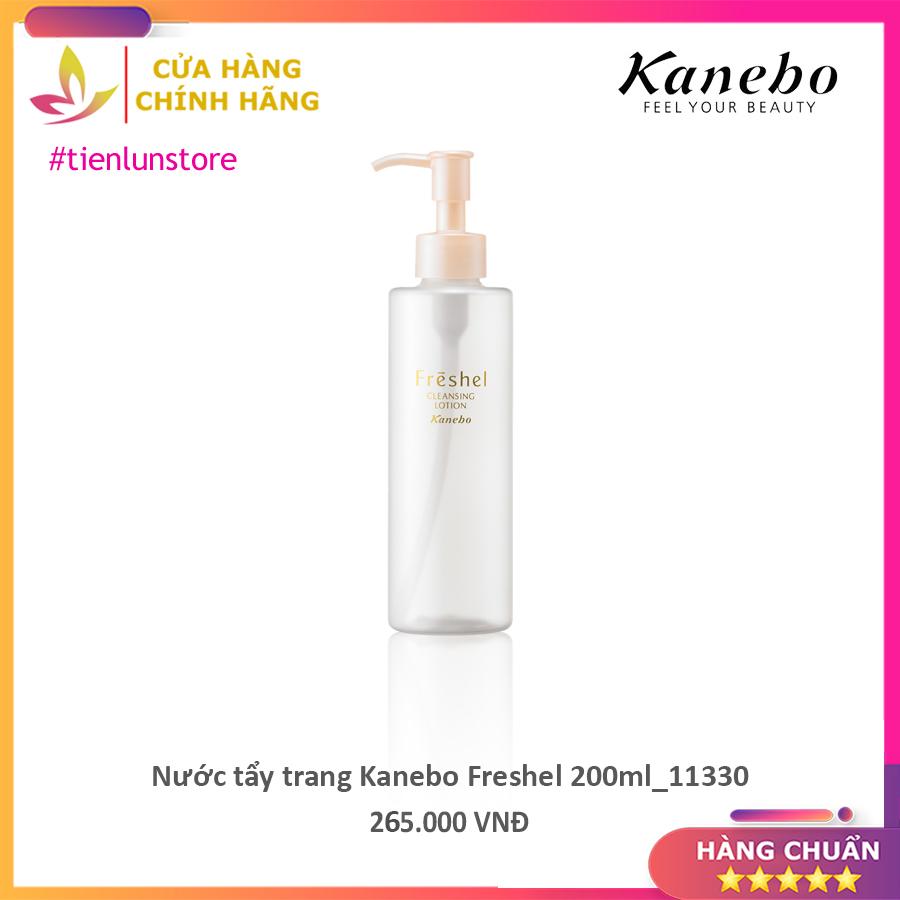 Nước tẩy trang Kanebo Freshel 200ml