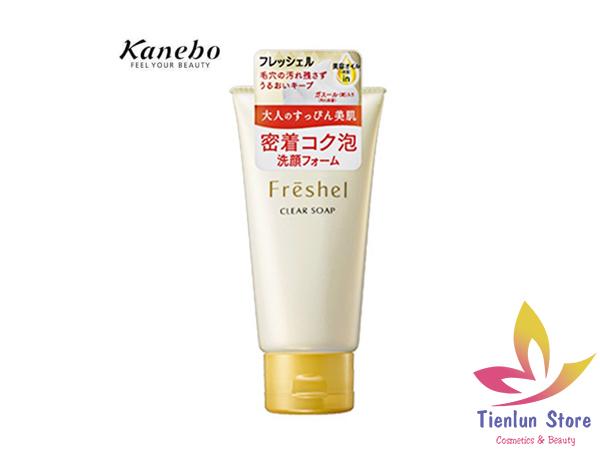 Sữa rửa mặt làm sáng da Kanebo Freshel 130g