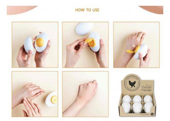 Gel tẩy da chết Holika Holika Smooth Egg