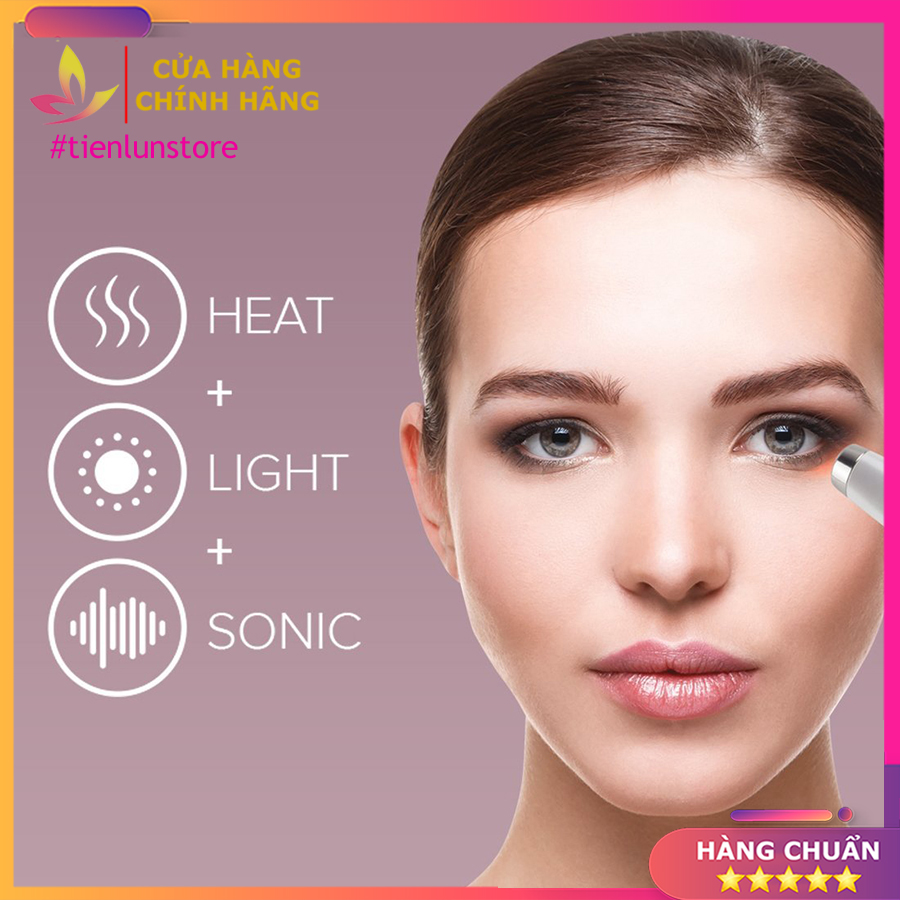 Máy massage bọng mắt HoMedics Eye Revive Luxe EYE-200-EU