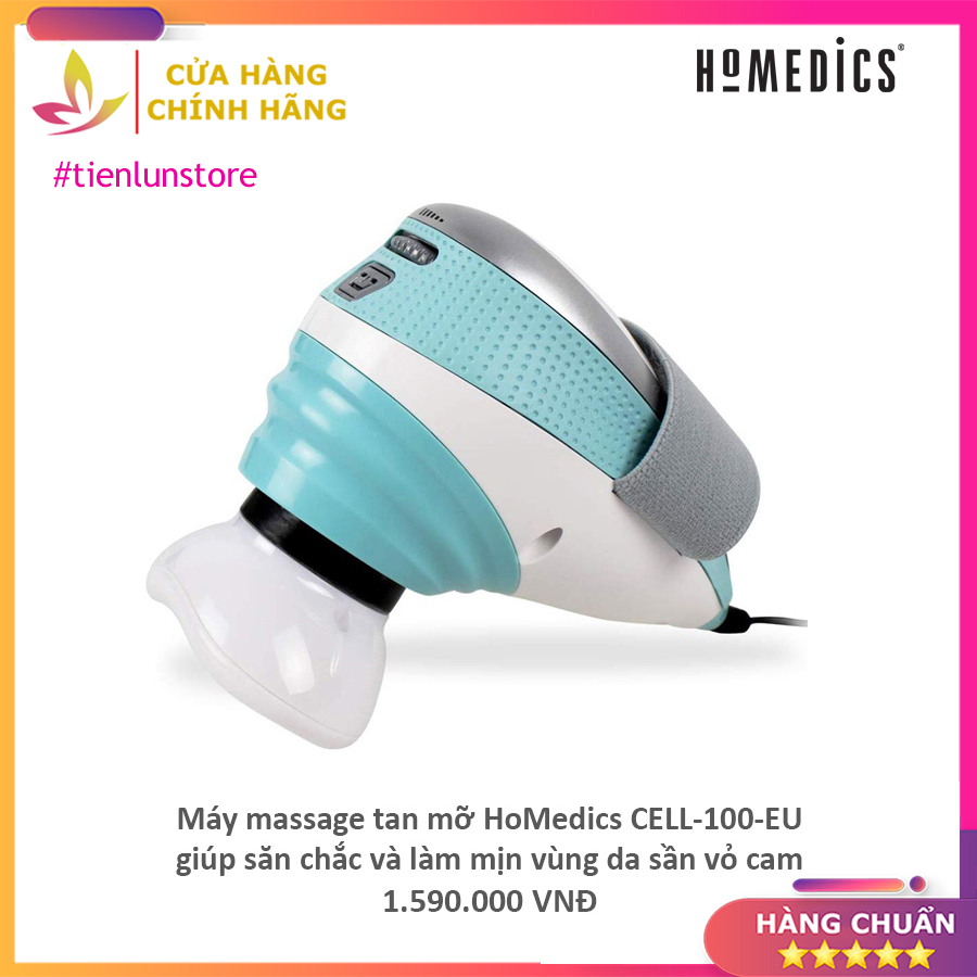 Máy massage tan mỡ HoMedics CELL-100-EU