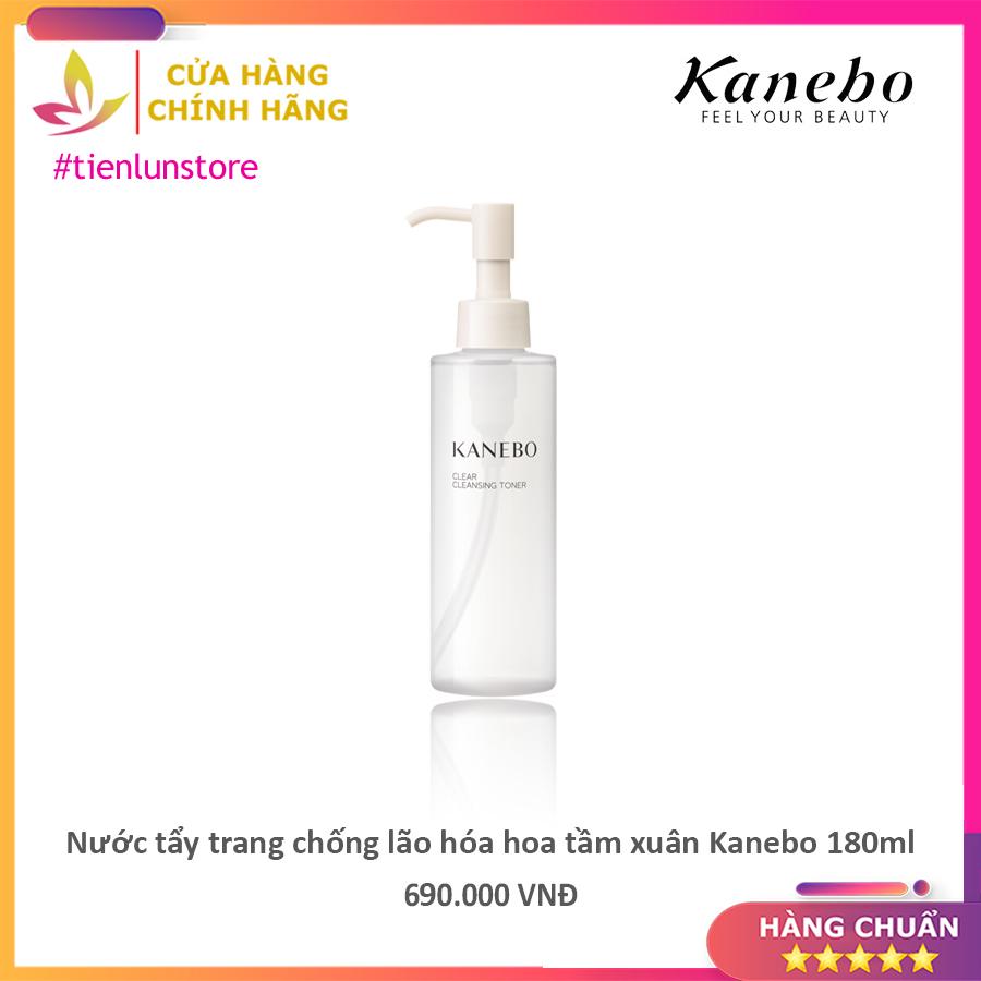 Nước tẩy trang chống lão hóa hoa tầm xuân Kanebo 180ml