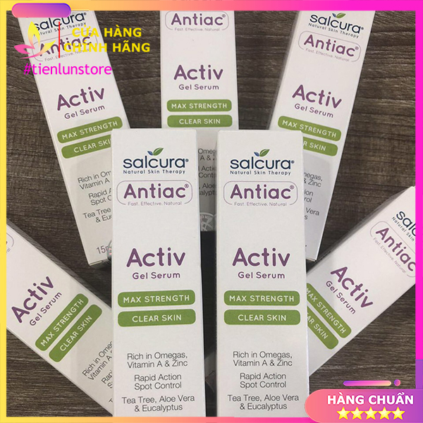 Kem ngừa mụn và viêm da ACTIV Gel Serum
